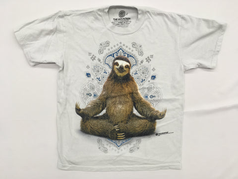 Sloth- Yoga Pose Mountain T-Shirt