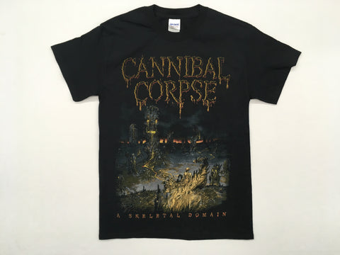 Cannibal Corpse - Skeletal Tour 2016 Shirt