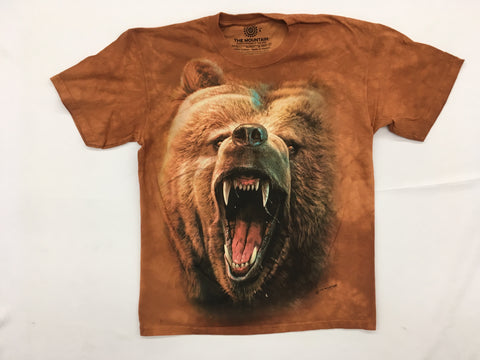 Bears- Grizzly Growl Mountain Shirt