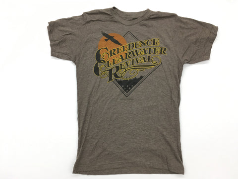 Creedence Clearwater Revival - Bayou Country Liquid Blue Shirt