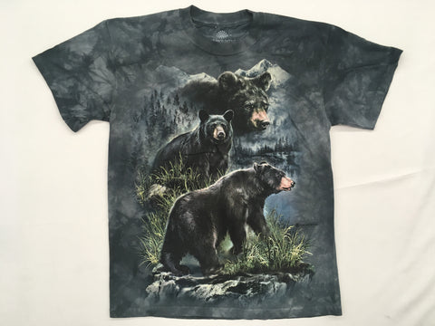 Bears- Three Black Bears Mountain Shirt