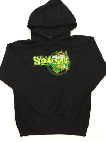 Cypress Hill- Smoke Out Pull Over Hoodie