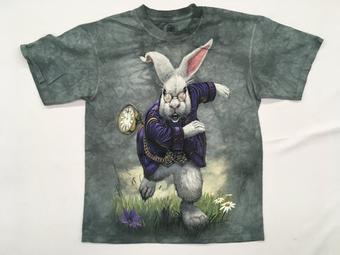 Alice in Wonderland- White Rabbit Mountain Shirt