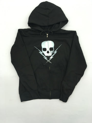 Death By Stereo- Logo Women's Zip-Up Hoodie