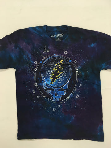 Grateful Dead - Mystical Stealie Liquid Blue Shirt
