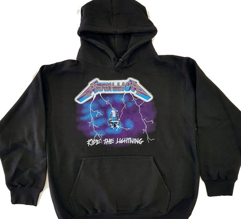 Metallica - Ride The Lightning Pull Over Hoodie