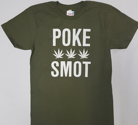 Poke Smot - Green Novelty Shirt