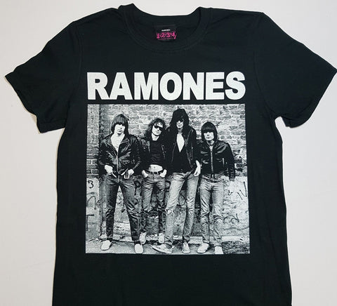 Ramones - Band Brick Wall Shirt