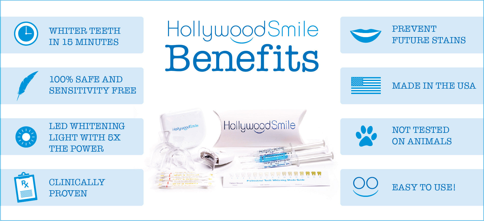Hollywood Smile Benefits