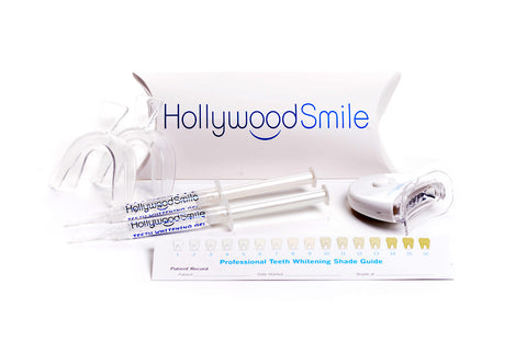 Image of the basic Hollywood Smile at-home, DIY teeth-whitening kit