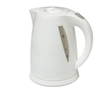 1.7L White Plastic Kettle