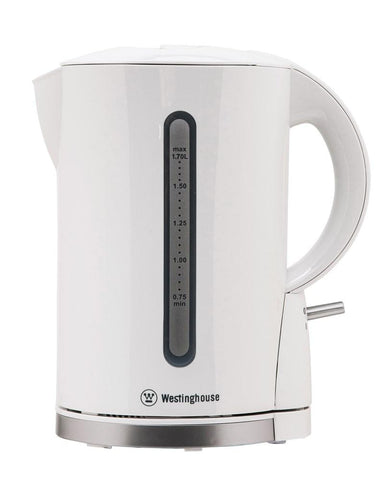 Kettle, White Plastic