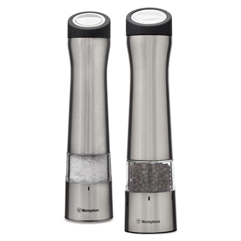 Salt And Pepper Mills, Pair, Electric