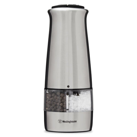 Salt And Pepper Mill, 2 In 1, Electric