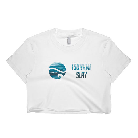 Tsunami Logo Crop Top