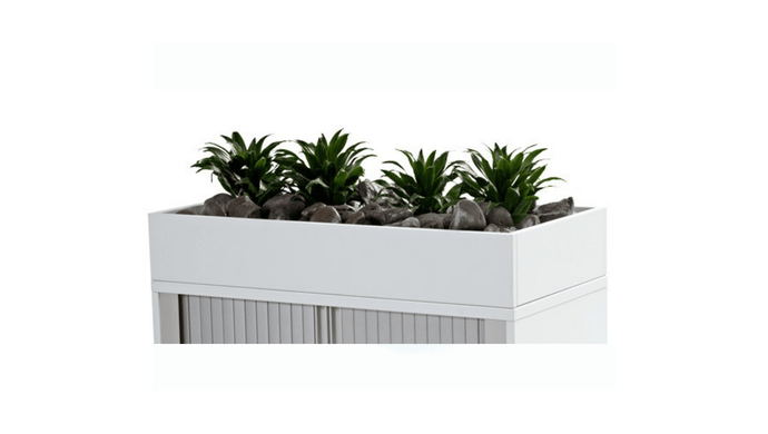 Filing and Storage Cubit Tambour Unit Planter Box