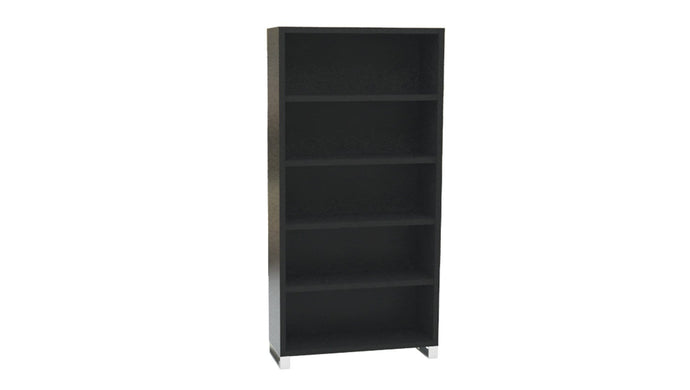 Filing and Storage Ebony Bookcase Standard