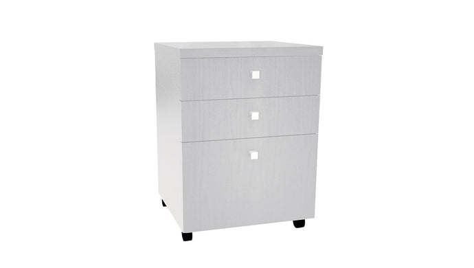 Filing and Storage Ivory Mobile Drawer Unit