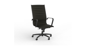 Seating Black Met Highback Chair