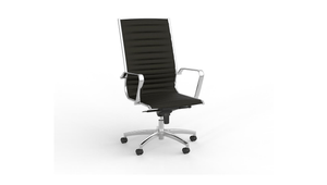 Seating Chrome Met Highback Chair