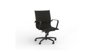Seating Black Met Midback Chair