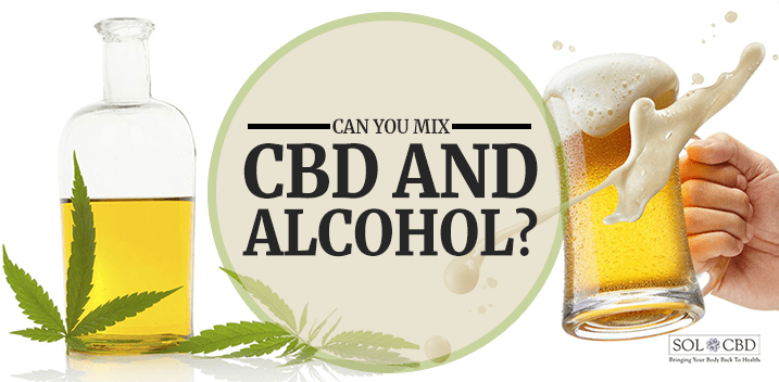 All About CBD and Alcohol - Should You Mix? - SOL*CBD - SOL✿CBD