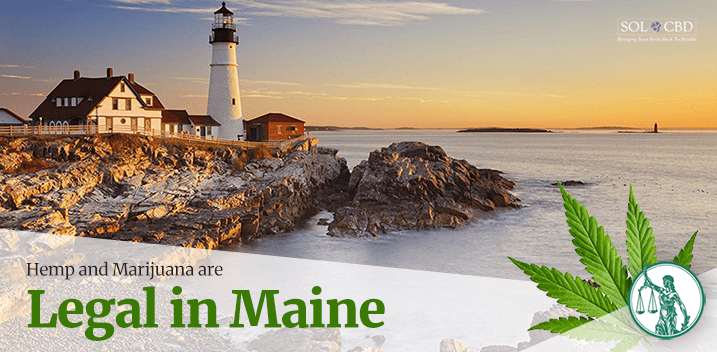 Is CBD Oil Legal in Maine?