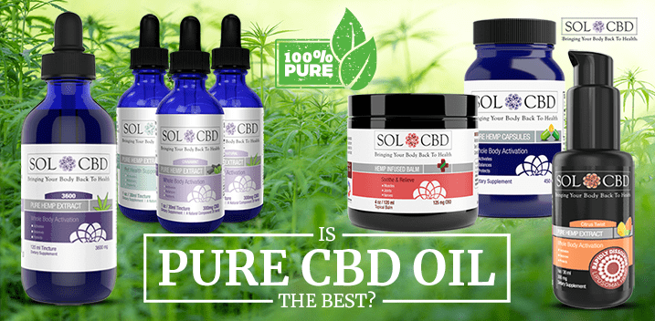 Potential Benefits Of Using Pure CBD Oil