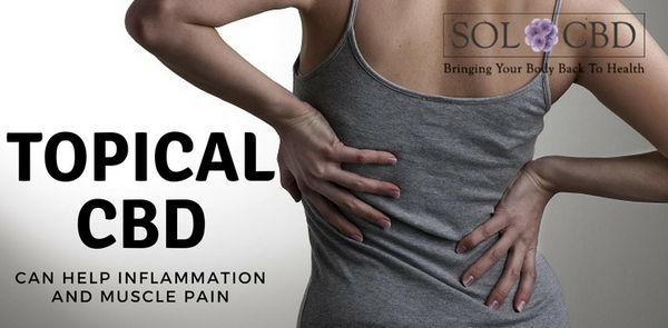 Recent Study Suggests Topical CBD Can Help Inflammation and Muscle Pain