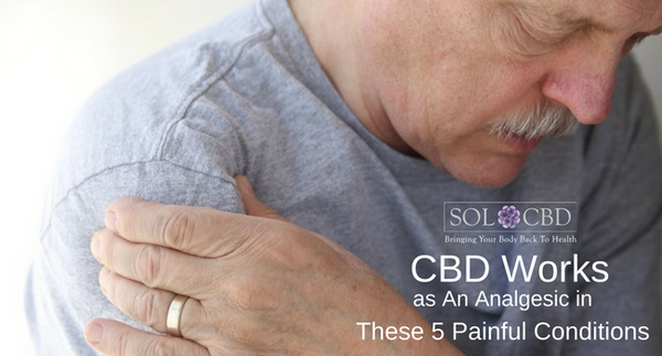 CBD May Work as An Analgesic in These 5 Painful Conditions