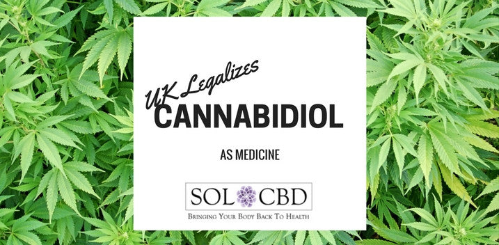 UK Legalizes Cannabidiol as Medicine