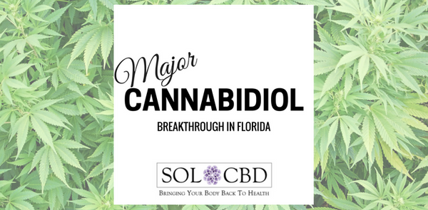 Major Cannabidiol Breakthrough in Florida