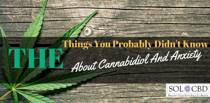 What You Probably Didn't Know About Cannabidiol and Anxiety
