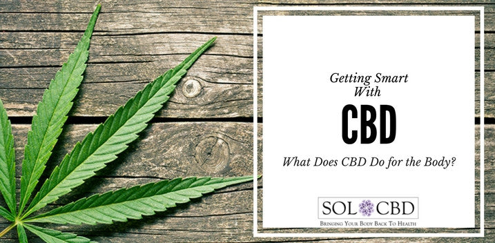 Getting Smart With CBD: What CBD Does for The Body