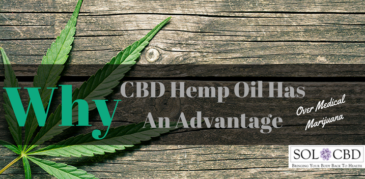 CBD Hemp Oil Has Distinct Advantages Over Medical Marijuana
