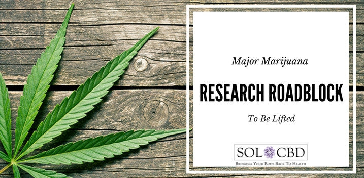 Major Marijuana Research Roadblock to Be Lifted