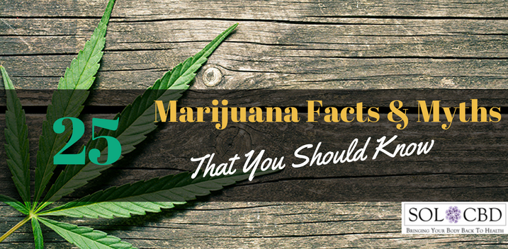 25 Marijuana Facts and Myths