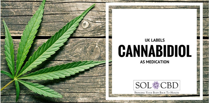 UK Labels Cannabidiol As Medication