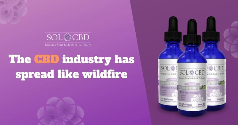 With hemp cultivation spreading in popularity and the increasing ability to perform cost-effective extraction, the CBD industry has spread like wildfire.