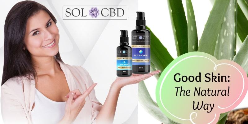 CBD skin care products might be incorporated with other skin-boosting ingredients such as aloe vera, glycerin, and essential oils.