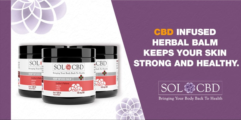 CBD-infused Herbal Balm contains full-spectrum hemp extract to provide you with the best quality CBD.