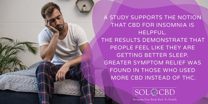 Greater symptom relief was found in those who used more CBD instead of THC.