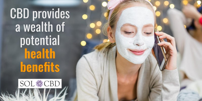 CBD provides a wealth of potential health benefits.