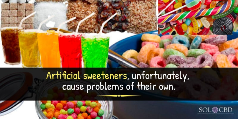 Artificial sweeteners can throw our gut environment into disarray, leading to more intense sugar cravings.