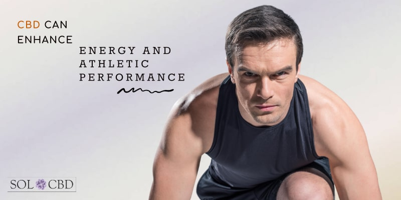 CBD can enhance energy and athletic performance.