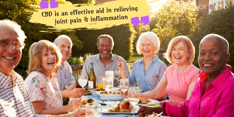 CBD is an effective aid in relieving joint pain & inflammation.