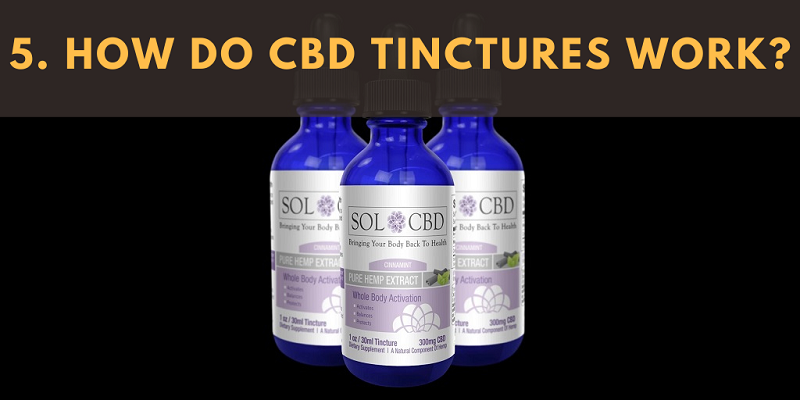 How Do CBD Tinctures Work?