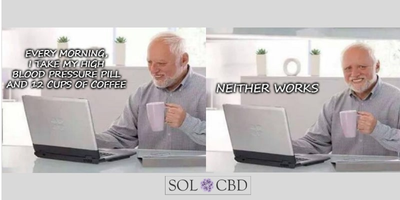 Researchers found that CBD lowered blood pressure in healthy participants.