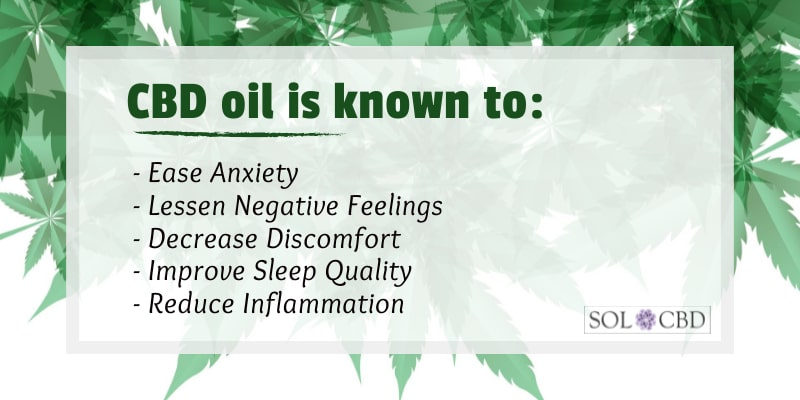 CBD is known to attenuate negative feelings, which can lead to breaking the sugar adiction.