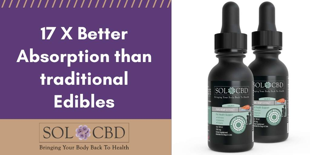 Liposomal CBD is 17 times more effective than other methods.